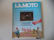 LA MOTO 3/1988 PIAGGIO VESPA COSA/KAWASAKI GPX 600 R/MORINI SETTEBELLO/HUSQVARNA