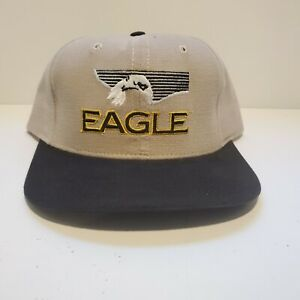 vtg EAGLE GPS Cap Hat trucker USA snapback (from LOWRANCE) embroidered baseball
