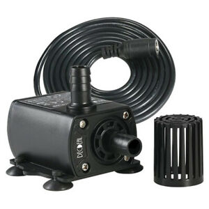Fountain Aquarium Mini DC 12V Brushless Pump Pond Submersible Water Pump #G