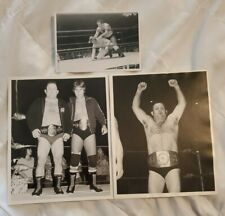 BULLDOG BOB BROWN OWNED PHOTOS from his estate - TERRY TAYLOR + RODDY PIPPER