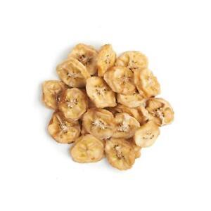 250g organic DEHYDRATED BANANA COINS by NUTRICRAFT™ - chewy - no added sugar
