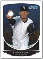 2013 Bowman Chrome Mini #249 Nestor Molina Chicago White Sox NM-MT