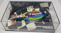 MINICHAMPS RUBENS BARRICHELLO signed Jordan Peugeot Formula 1 1/43 Diecast