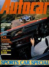 Autocar - 27th June 1981 Lotus Eclat / Esprite S3 TVR Tasmin Porche 911 / 928/ 9