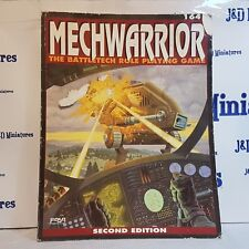 FASA Corporation Mechwarrior The Battletech Role-Playing Game 2nd Edition