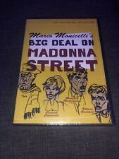 Big Deal on Madonna Street (DVD, 2001, Criterion Collection) Brand New