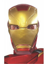 Adults Marvel Captain America Civil War Iron Man 1/2 Mask Costume Accessory