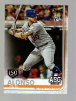 2019 Topps Update Series Pete Alonso150th Anniversary #US47 All-Star METS RC