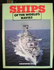 Ships of the World's Navies Chant, Christopher Hardback