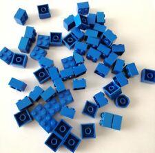 LEGO 60X BRICK 2X2 BLU MISTI LOTTO SET KG MATTONCINI SPED GRATIS SU + ACQUISTI