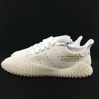 Adidas Originals Kamanda 01 Shoes Men's CLOUD White Gold Embroidered DB2778