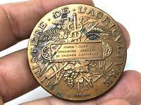 Médaille Ministère de l'Agriculture & Paris 1886 & Concours Vaches Laitières