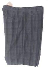 Nike Plaid Stripe Shorts Black Grey 623988