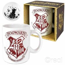 New Harry Potter Hogwarts Crest & The Grim Mug Coffee Tea Cup Official Licensed