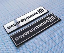 Beyerdynamic - Metallic Sticker Emblem Badge Set ( 2 pieces )