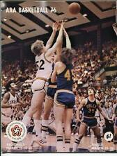 High School Basketball Program Washington Prep WIAA 1976 State AAA HTF Cleveland