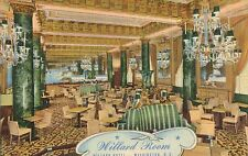 Washington,D.C.Willard Hotel,Willard Room,Cocktail Lounge,Linen,Used,1947