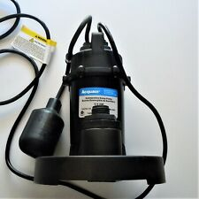 Acquaer Submersible Sump Pump With Float Switch 2530GPH Model SUP033T-2 NIOB