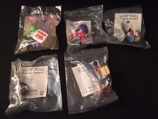 Lot MIP 4 Shell Oil 1991 Looney Tunes Figurines & 1 Happy Meal Animaniacs 1993