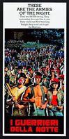 Cartel i Guerreros de Notte (el Warriors) Walter Hill Cine Película L111