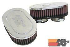 RU-0060 K/&N Universal Clamp-On Air Filter 1-1//4FLG 3OD Universal Air Filters 3H
