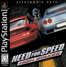 Need For Speed High Stakes - PS1 PS2 Complete Playstation Game