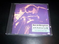 Borah Bergman With Andrew Cyrille ‎– The Human Factor CD Black Saint  sealed