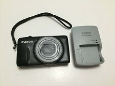 Canon PowerShot SX600 HS 16.0MP Digital Camera - Black- charger/battery included