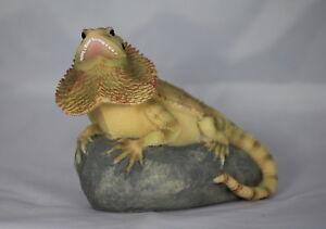 5 inch BEARDED DRAGON/LIZARD/REPTILE, GIFT FOR ANIMAL LOVER, VIVARIUM DECORATION