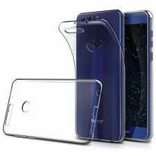1mm Transparent Silicone Fin Coque Gel + verre trempé Huawei Honor 6x de MaxiPRO