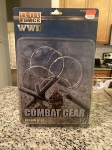 "Elite Force WWII Combat Gear Barbed Wire 12"" Action Figure,(B147) #1"