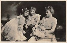 POSTCARD ACTRESSES WINIFRED EMERY & CHILDREN