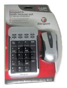 Targus Wireless Keypad & Mouse Combo PAKP003U