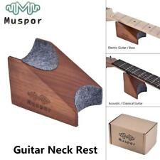 Muspor Wooden Mahogany Guitar Neck Rest Stand Support Work Mat Pad Luthier Tool