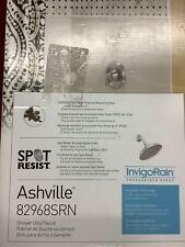 NEW MOEN Ashville Single-Handle Shower Faucet With Valve Spot Resist B.Nickel