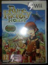 Rune Factory Frontier / Harvest Moon Nintendo WII / WII U Neuf/New