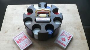poker cards / chips / card caddy