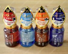 4pc set face essence serum royal jelly placenta Coenzyme Q10 Hyaluronic acid