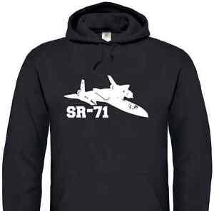 Lockheed SR-71 Blackbird Hoodie (USAF, Aircraft,Hoody, United States Air Force)