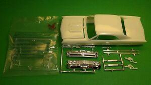 67 1967 Chevelle SS 1/25 hood body glass chrome front rear bumper model car part