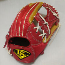 "Louisville Slugger Air IV 12"" Red/Gold I-Web Infield RHT Baseball Glove"