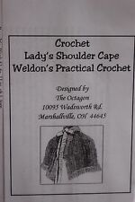 Victorian Civil War Mid 19 Century Crochet Pattern adapted from original New