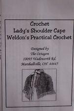Victorian Civil War Mid 19 Century Crochet Pattern adapted from original New