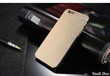 Metal funda para móvil Para Apple iPhone 6 Funda Cubierta - Oro (38GO)