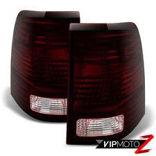 """2002 2003 2004 2005 Ford Explorer """"DARK RED SMOKE"""" Rear Brake Tail Lights Lamps"""
