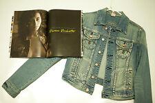 Raven Rockette Jean Jacket worn during her photo shoot for STRIPLV Magazine