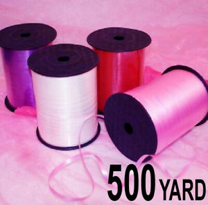BALLOON CURLING RIBBON Party Florist Gift Wrapping  500 Yard / 450 meter
