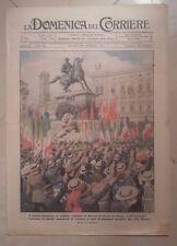 LA DOMENICA DEL CORRIERE 26 SETTEMBRE/6 OTTOBRE 1918 PRIMA GUERRA MONDIALE N. 39