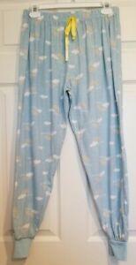 NWOT BOBBIE BROOKS  Blue Rainbow Print Jogger Style Sleep Pants Juniors Size S