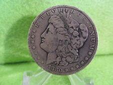 1880 MORGAN SILVER DOLLAR IN VERY FINE CONDITION
